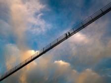 Le plus long pont suspendu au monde