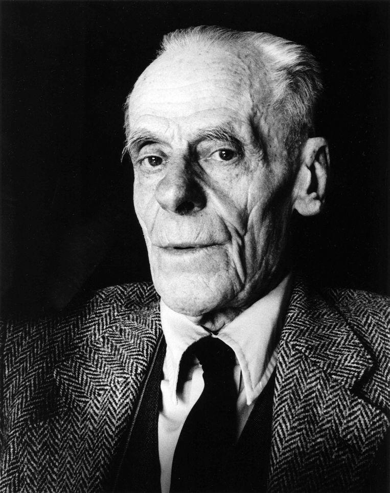 Willem Visser 't Hooft, de eerste secretaris van de Wereldraad van Kerken, in 1980. Beeld Hollandse Hoogte / Lebrecht Music + Arts