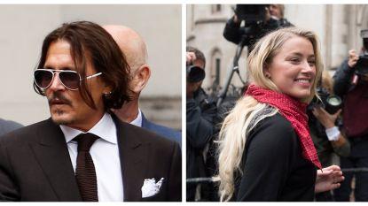 Zo verschillend brengen Johnny Depp en Amber Heard hun tijd in Londen door
