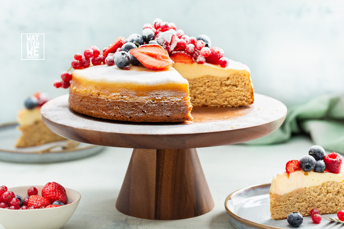 Bananenbrood-cheesecake