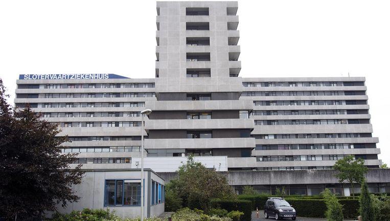 Het Slotervaart, dat in 2006 nog had moeten sluiten omdat er in Amsterdam een overcapaciteit aan ziekenhuisbedden is, slaagde er vorig jaar in 4,5 procent meer nieuwe patiënten te trekken in de poliklinieken. Foto ANP Beeld