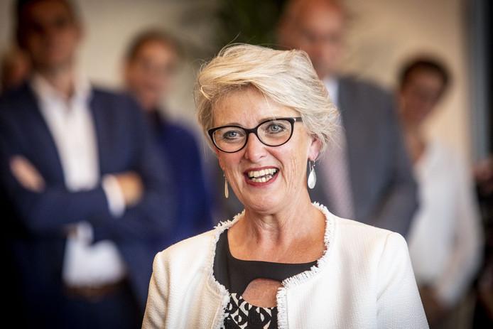 Doret Tigchelaar is de nieuwe burgemeester van Wierden