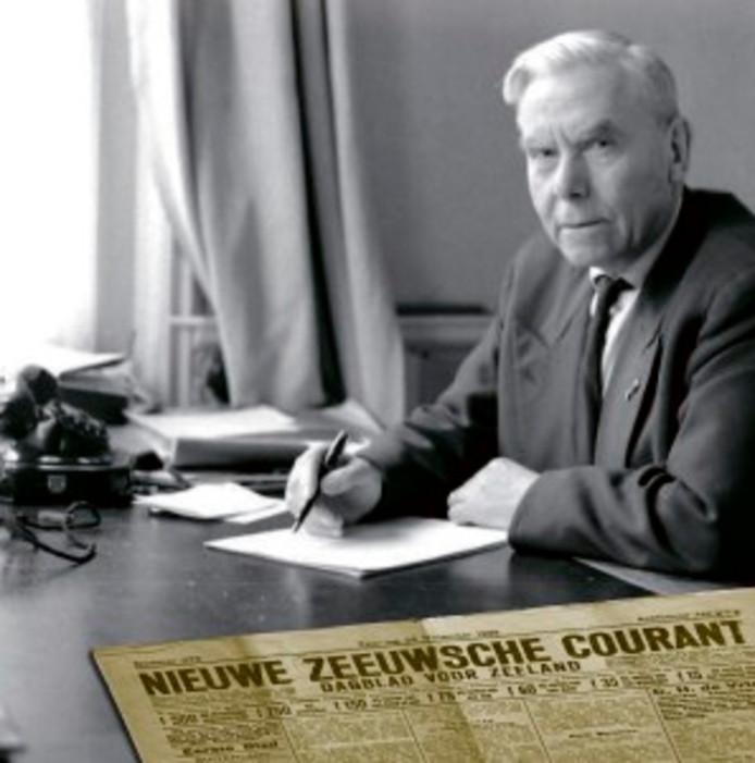 Niek Karhof, verslaggever van 't Nieuwe Zeeuwtje