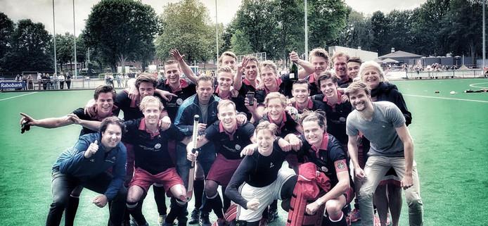 Berkel-Enschot kampioen hockey eerste klasse 2018/2019.