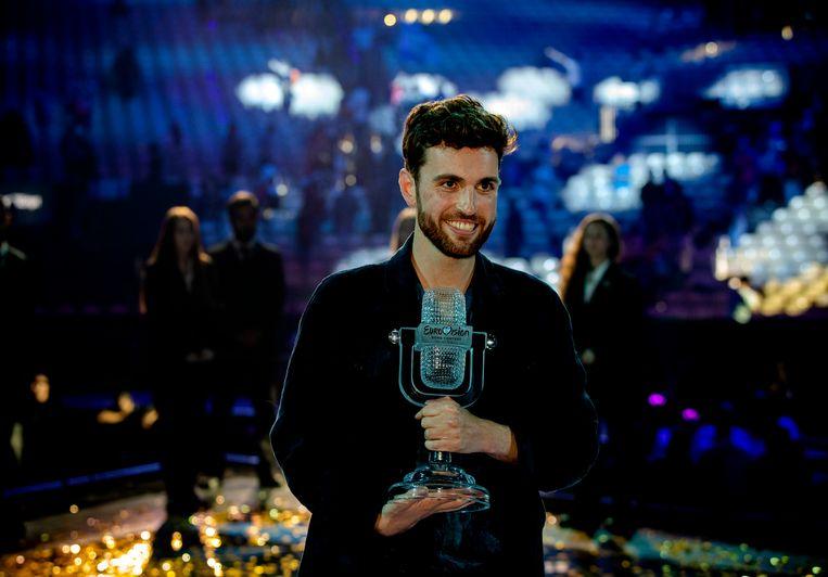 Duncan Laurence won vorig jaar het songfestival