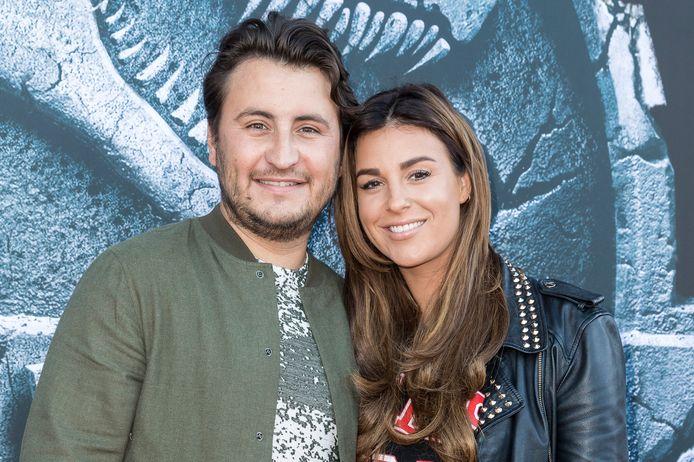 Danny Froger en vriendin Ann Dominique Wilten
