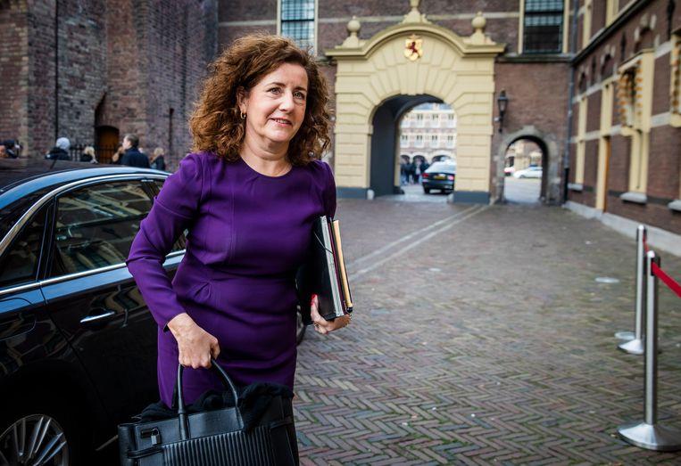 Minister Ingrid van Engelshoven van OCW. Beeld ANP