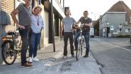 """Gemeentebestuur stelt slecht uitgevoerde werken in Driesstraat aan de kaak: """"Onaanvaardbaar dat aannemers van nutsmaatschappijen geen oog hebben voor fietsveiligheid"""""""