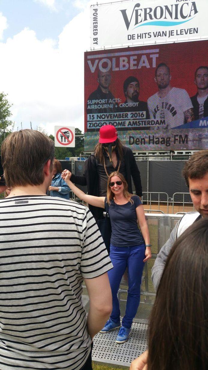 Fans op de foto met de Kraaien