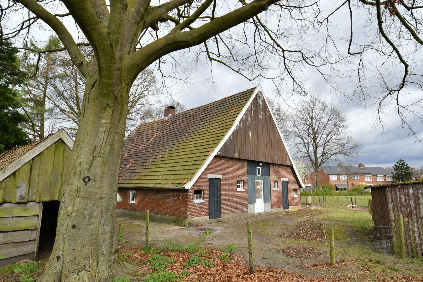 De voormalige boerderij Aveskamp.