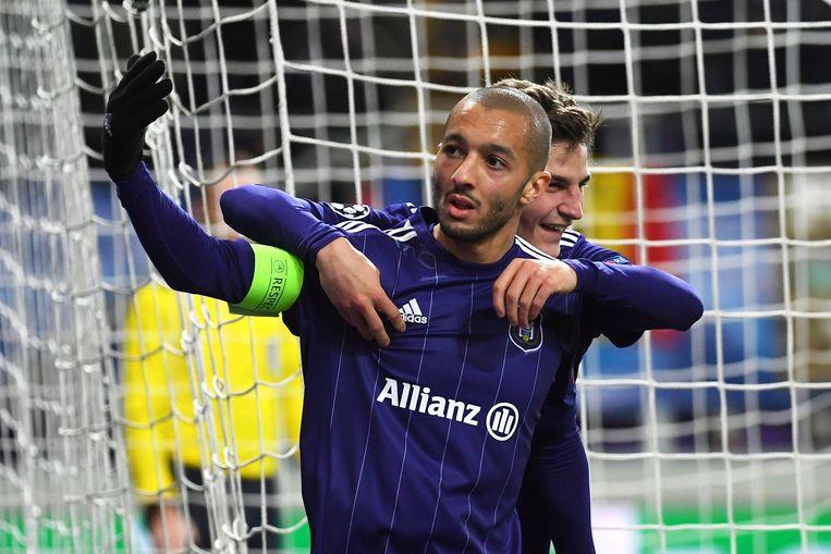 Hanni scoorde de gelijkmaker tegen Bayern München.