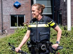 Wijkagente Mirjam van Riessen geliefd in Corlaer