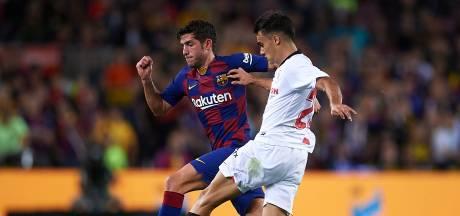 Barcelona zonder Sergi Roberto en Umtiti tegen Slavia Praag