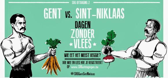 Gent vs Sint-Niklaas: wie eet er de komende veertig dagen het minst vlees?