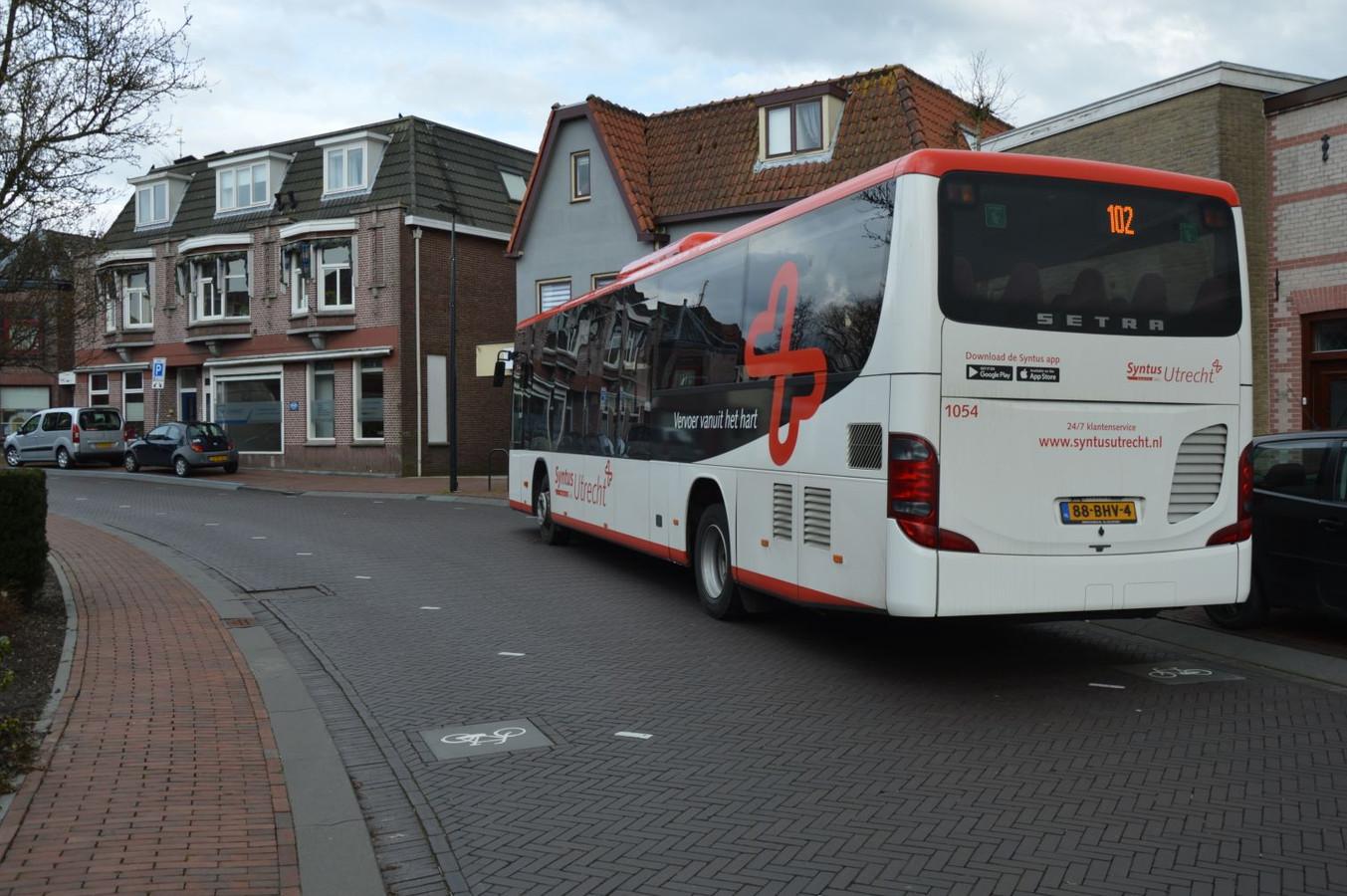 Een  bus van Syntys