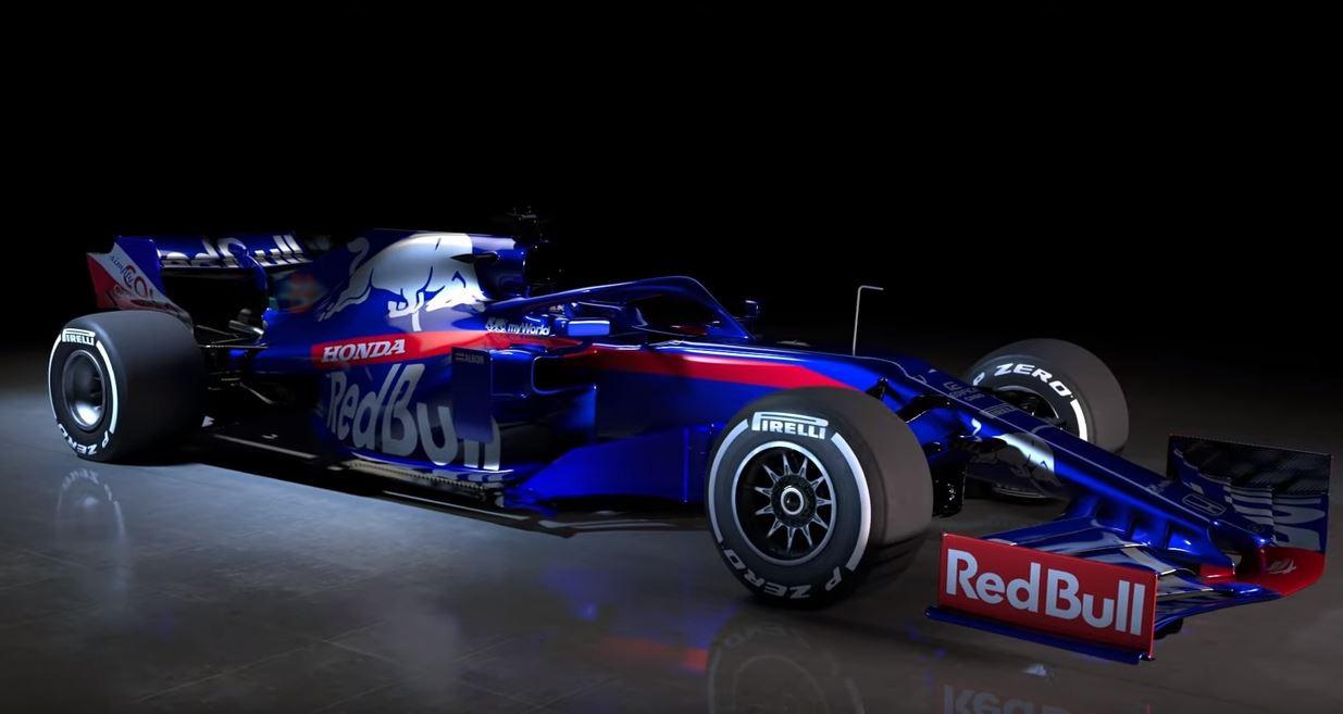 De nieuwe wagen van Toro Rosso