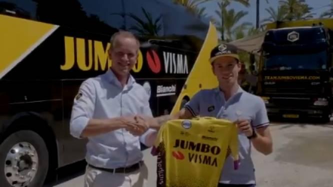 Jumbo-Visma maakt contractverlenging Roglic bekend met geweldig filmpje