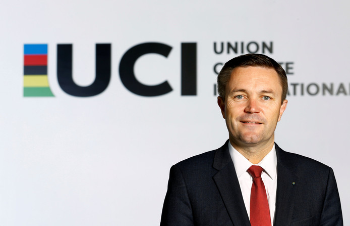 David Lappartient, baas van UCI.