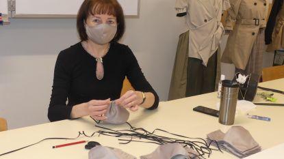 Leerkrachten Sint-Vincentius maken 500 mondmaskers voor rusthuizen
