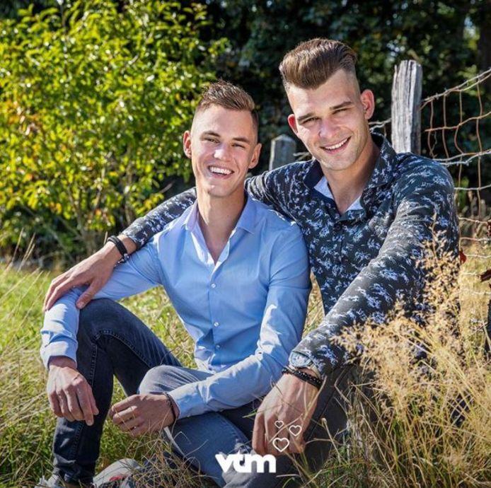 Lucas (links) en Tristan (rechts).
