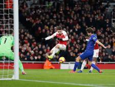 Lacazette en Koscielny leiden Arsenal langs Chelsea