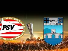 PSV neemt het op tegen NK Osijek
