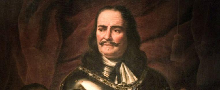 Een portret van admiraal Michiel Adriaensz. de Ruyter, vervaardigd in 1668 door Ferdinand Bol. (ANP) Beeld
