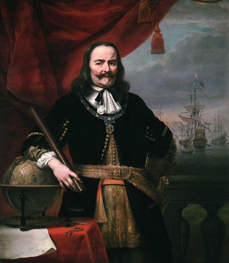 Michiel Adriaenszoon de Ruyter (1607-1676). Beeld Ferdinand Bol