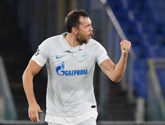 Goed nieuws voor Club Brugge: Zenit-spits Dzyuba achtergebleven in Rusland