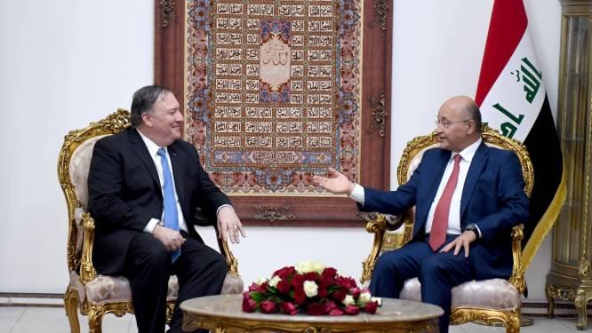Pompeo: Irak moet diplomatiek en militair personeel VS beschermen