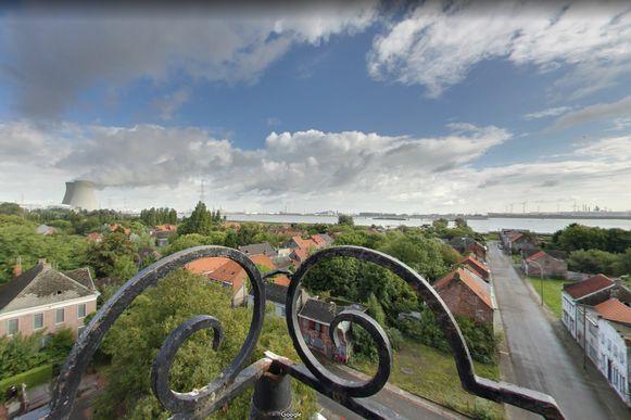 Google beklom voor de opnames van de Streetview ook de kerktoren.