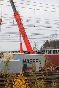 Goederentrein ontspoord in Eindhoven: minder Sprinters door herstelwerkzaamheden