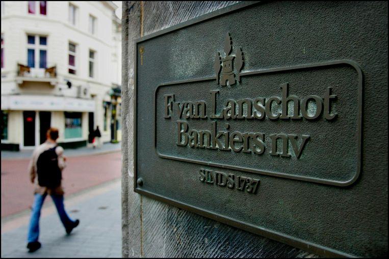 Het exterieur van Lanschot Bankiers. Beeld anp