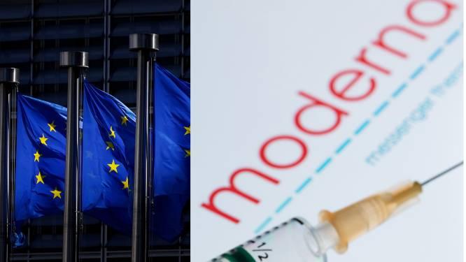 Europese Commissie kondigt aankoopcontract aan voor 160 miljoen dosissen van het coronavaccin Moderna