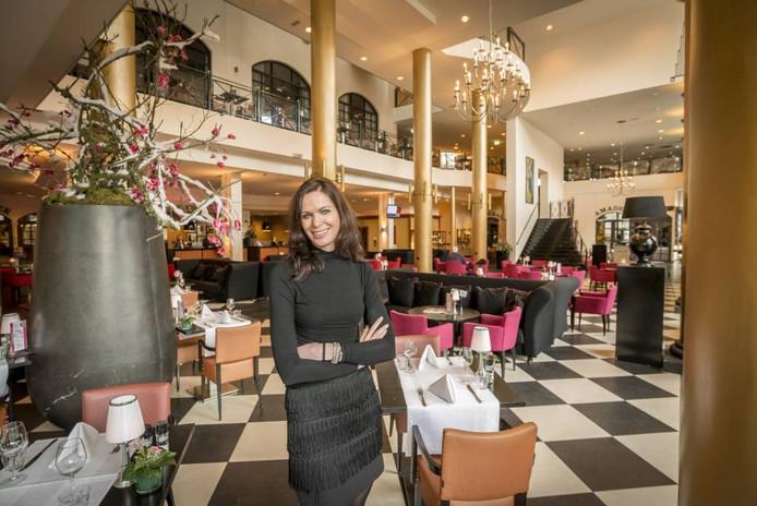 Manager Esther Hammink van Het Theaterhotel: 'Volgend jaar nieuwe ronde, nieuwe kansen.' FOTO REINIER VAN WILLIGEN