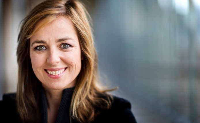 Marianne Thieme, fractievoorzitter van de Partij voor de Dieren in de Tweede Kamer.