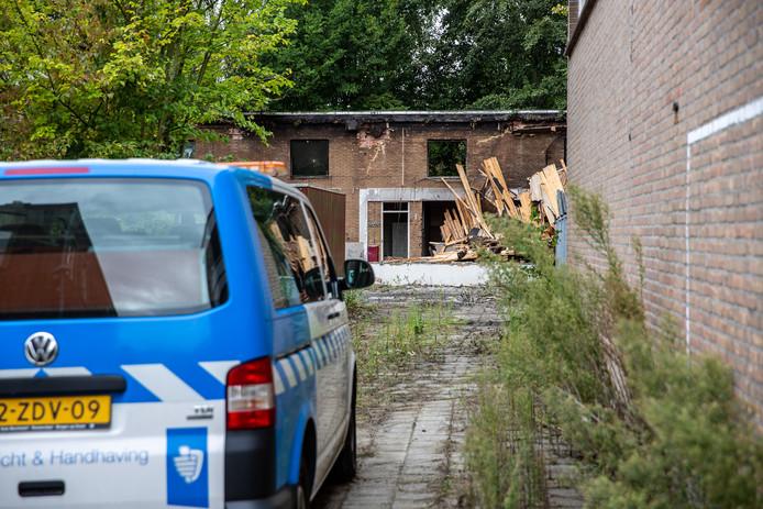 Tweede brand in paar dagen tijd in voormalig pand Da Vinci College