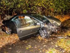 Automobilist verliest macht over het stuur bij Nijkerk