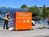 Personeel AH Elst gaat winkelkar 'binnen 7 seconden volledig reinigen zonder handen'