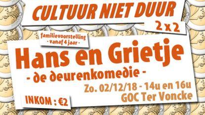 Cultuur voor slechts 2 euro