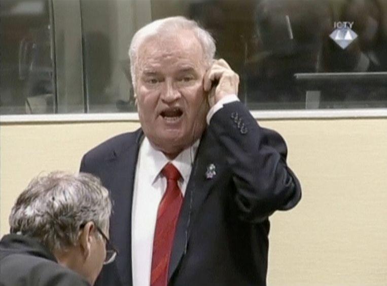 Ratko Mladic Beeld REUTERS