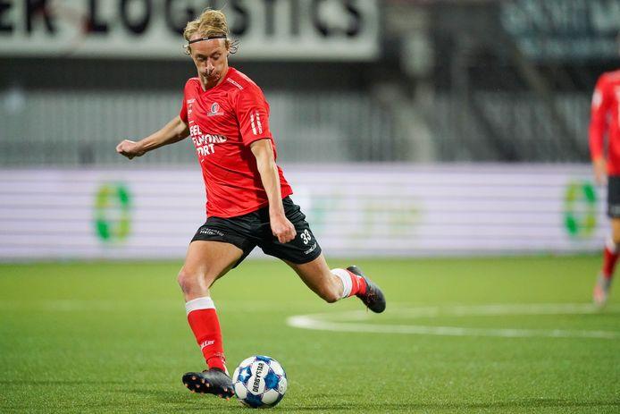 KV Mechelen-huurling Gaetan Bosiers solliciteert nadrukkelijk naar een basisplek bij Helmond Sport.