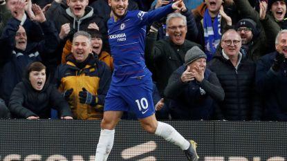 Eden Hazard dribbelt en trapt ze op een hoopje: Chelsea smeert hekkensluiter forfaitcijfers aan, Higuain opent rekening
