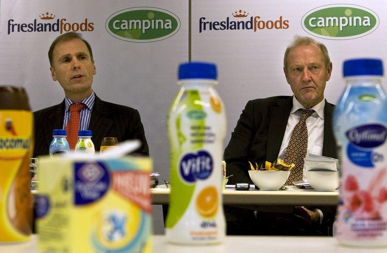 FrieslandCampina is een van de grote exporterende bedrijven in Zuidwest-Drenthe. Beeld anp