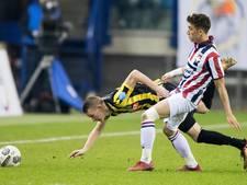 Willem II ziet Vitesse laat langszij komen