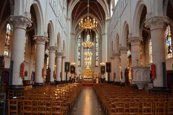 De Heilig Hartkerk in Turnhout