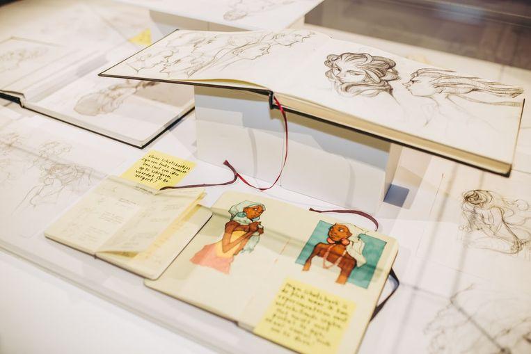 'The Art of Loish', te zien in Groningen. Beeld Stella Dekker