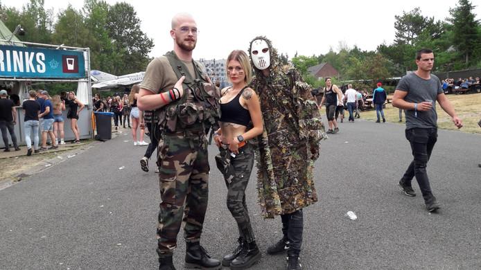 Killian (26), Lara (25) en Joris (29)