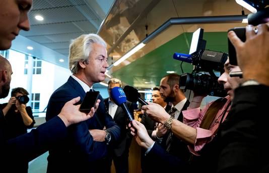 Geert Wilders noemde de uitspraak schandelijk.