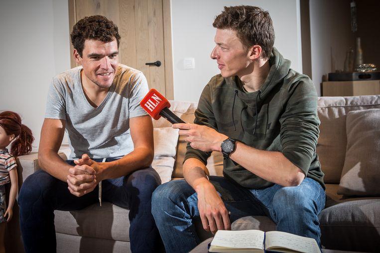 Die keer toen 'journalist' Naesen Van Avermaet interviewde. In aanloop naar de Kristallen Fiets 2017, na het wonderjaar van Greg, voelde Oliver zijn trainingsmaat en nu ploegmaat aan de tand.